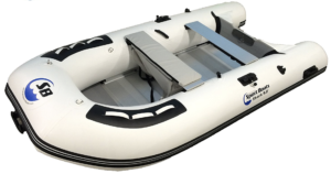 Inflatable Sport Boats Shark Model 300 Dinghy - side view