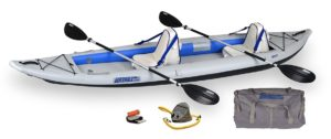 Sea Eagle 385FT FastTrack Deluxe Inflatable Kayak