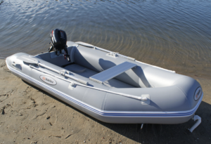 Solstice Sportster 4-Person Runabout Inflatable Dinghy Boat - 10hp motor possible