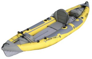 Advanced Elements Straitedge Angler Inflatable Fishing Kayak