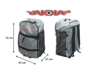 BIC Sport YAKKAIR HP2 Inflatable fishing Kayak - comfortable backpack