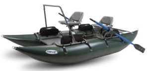 Outcast Fish Cat 13 Inflatable Pontoon Boat