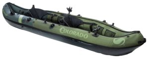 Sevylor Coleman Colorado 2-Person Inflatable Fishing Kayak