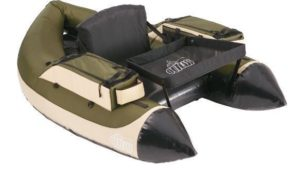 Outcast Super Fat Cat LCS Inflatable Fishing Float Tube - great fishing boat