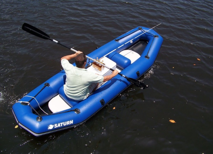 Saturn 12 Feet Inflatable River Raft