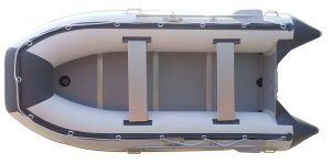 Newport Vessels Baja 11-ft 9-in Inflatables Sport Tender Dinghy Boat - top view