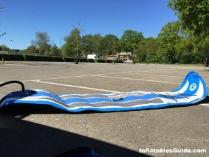 iRocker Cruiser SUP - inflating and deflating is easy