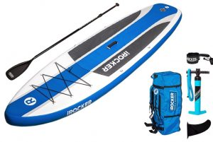 iRocker Inflatable CRUISER 10'6 Stand Up Paddle Board