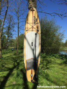Thurso Surf Waterwalker inflatable SUP - great package with paddle pump bag