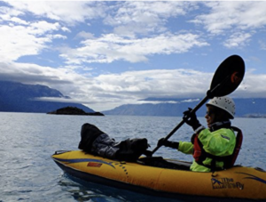 Advanced Elements FireFly Inflatable Kayak - beautiful scenery