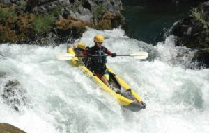 Advanced Elements StraitEdge Inflatable Kayak - white water kayaking