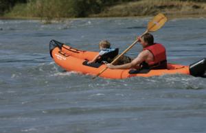 Airhead AHTK-2 Montana Performance inflatable kayak - pleasure