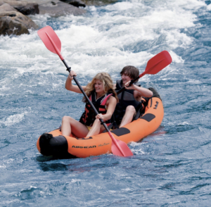 Airhead AHTK-2 Montana Performance inflatable kayak - river fun