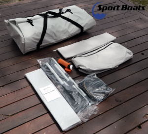 Inflatable Sport Boats Shark Model 300 Dinghy - accessories