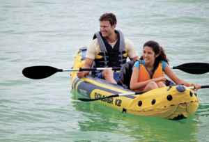 Intex Explorer K2 Kayak, 2-Person Inflatable Kayak - enjoy fun