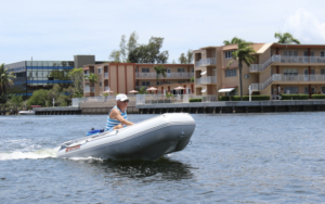 Saturn SD290 Inflatable Dinghy Boat - easy transport