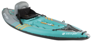 Sevylor Quikpak K1 inflatable kayak