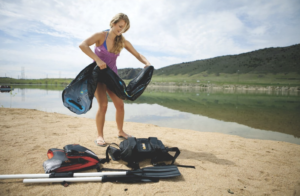 Sevylor Quikpak K1 inflatable kayak - quick to inflate