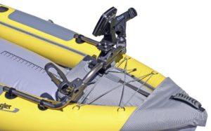 Advanced Elements Straitedge Angler Inflatable Fishing Kayak - extra mounts