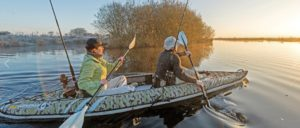 BIC Sport YAKKAIR HP2 Inflatable fishing Kayak - 2 person