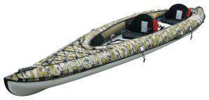 BIC Sport YAKKAIR HP2 Inflatable fishing Kayak