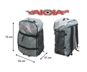 BIC Sport YAKKAIR HP2 Inflatable fishing Kayak - comfortable backpack