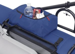 Classic Accessories Roanoke Inflatable Pontoon Boat - storage space