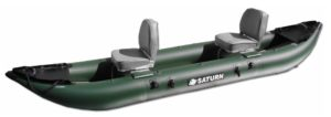 Saturn 13 ft Pro-Angler FK396 Inflatable Fishing Kayak - two seats