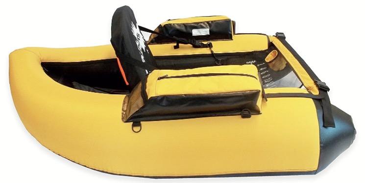 Caddis Sports Premier Plus Inflatable Fishing Float Tube - left side