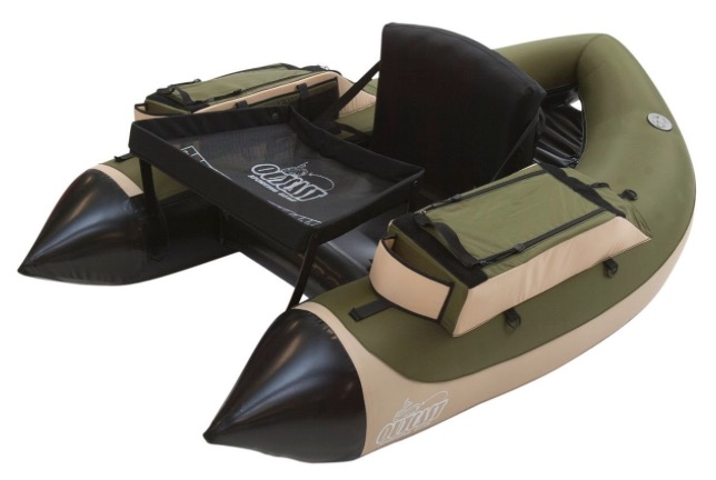 Outcast Super Fat Cat LCS Inflatable Fishing Float Tube