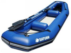 Saturn 12 Feet Inflatable River Fishing Raft