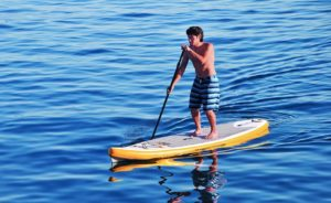 Advanced Elements Fishbone Inflatable SUP Standup Paddle Board