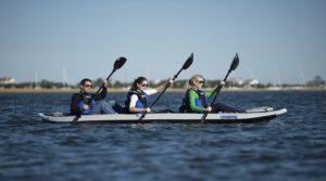 Sea Eagle 465 FastTrack Pro Inflatable Kayak - 3 persons kayak