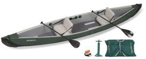 Sea Eagle TC16 Inflatable Travel Canoe Kayak