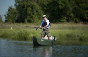 Sea Eagle TC16 Inflatable Travel Canoe - great fishing canoe kayak