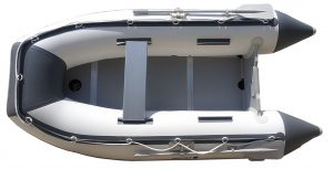 Newport Vessels 9-Feet 6-Inch Del Mar Inflatable Sport Tender Dinghy Boat - Top view