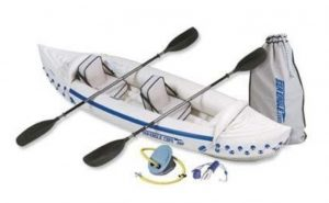 Sea Eagle SE330 Inflatable Kayak with Pro Package