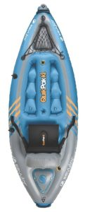 Sevylor Quikpak K1 1-Person Inflatable Kayak - sit on top kayak