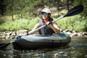 Sevylor Quikpak K5 1-Person Inflatable Kayak - great paddling