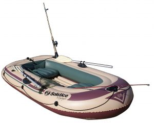 Solstice Voyager 4-person inflatable raft boat