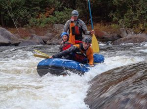 Saturn 9.6 ft Inflatable Whitewater Mini Raft - Challenging Rapids