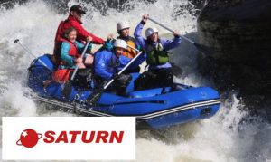Saturn Inflatable Whitewater Raft