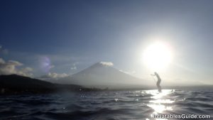 SUP beginners: Enjoy your standup paddle boarding! Bali Indonesia Sunset
