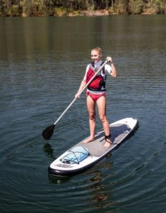Bestway HydroForce Wave Edge 10'2 Standup Paddleboard SUP - easy to paddle