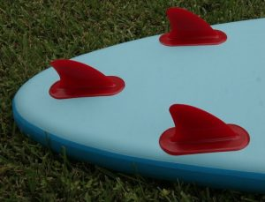 Red Paddle Co RIDE 10'6 Inflatable Standup Paddle board - 3 fins