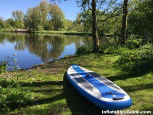 "iRocker Cruiser 10'6"" inflatable paddleboard"