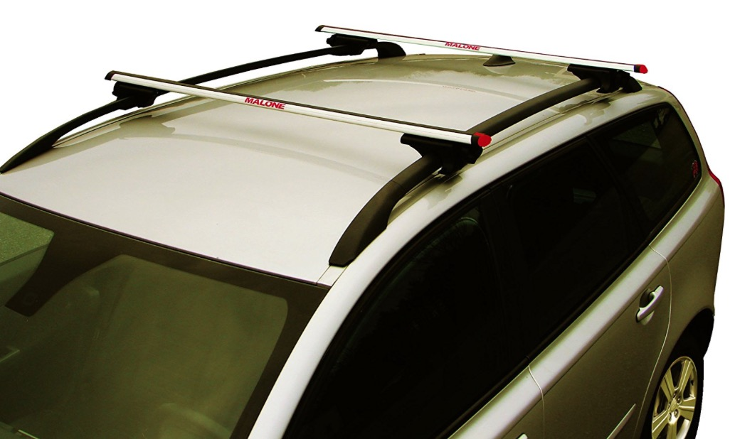 Malone Auto Racks AirFlow Universal Cross Rail System - fitted on car roof