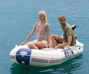 HydroForce Marine Pro Inflatable Raft - separate outboard motor available