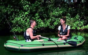 HydroForce Voyager 1000 Inflatable Raft - Good fun and easy paddling