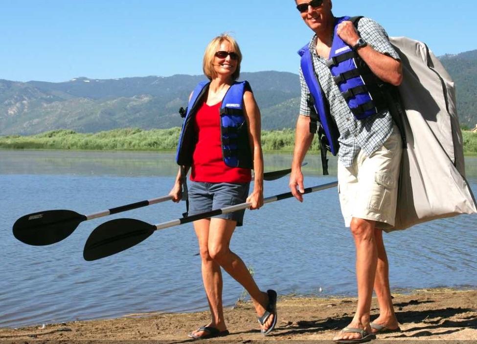 Sea Eagle SE330 Inflatable Sports Kayak Pro Package